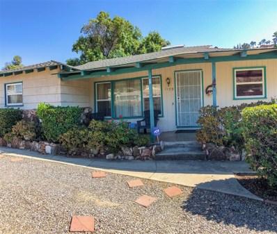 1199 Pepper Dr, El Cajon, CA 92021 - MLS#: 180043110
