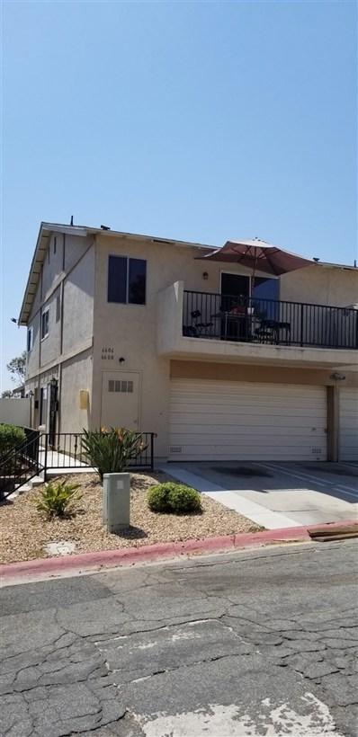 6606 Omega Dr, San Diego, CA 92139 - MLS#: 180043177
