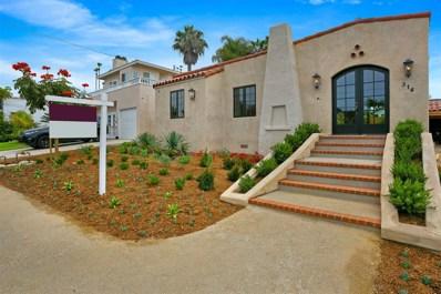 314 Barbara Ave, Solana Beach, CA 92075 - MLS#: 180043417