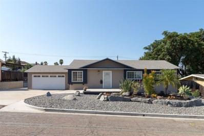1063 Greta St, El Cajon, CA 92021 - MLS#: 180043577