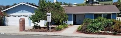 933 Passiflora, Encinitas, CA 92024 - MLS#: 180043626