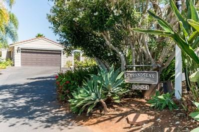 3004 Gopher Canyon Road, Vista, CA 92084 - MLS#: 180043677