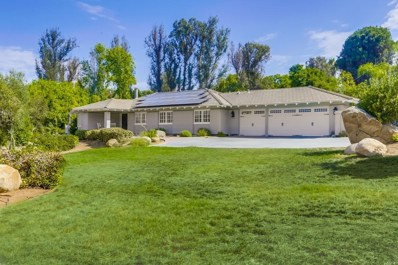 13350 Stone Canyon Road, Poway, CA 92064 - MLS#: 180044470
