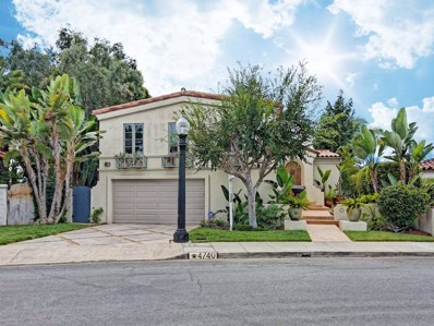 4740 Norma Drive, San Diego, CA 92115 - MLS#: 180044938