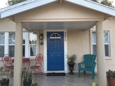 3650 Roselawn, San Diego, CA 92105 - MLS#: 180044965