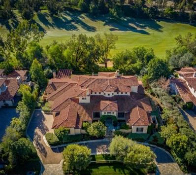 18330 Calle La Serra, Rancho Santa Fe, CA 92091 - MLS#: 180045135