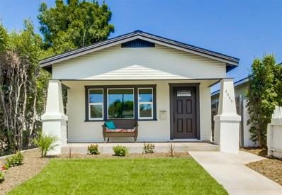 4445 McClintock St, San Diego, CA 92116 - MLS#: 180045250