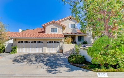 830 Inspiration Ln, Escondido, CA 92025 - MLS#: 180045295
