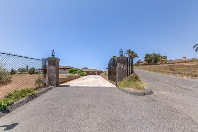 571 Lost Oak Ln, Escondido, CA 92025 - MLS#: 180045541