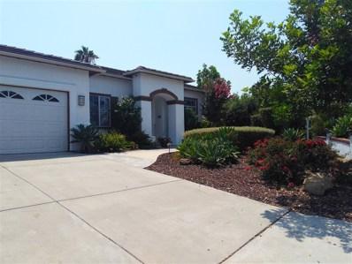 1565 Whispering Palm Drive, Oceanside, CA 92056 - MLS#: 180045551