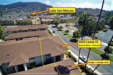 1015 Lanza Court, San Marcos, CA 92078 - MLS#: 180045943