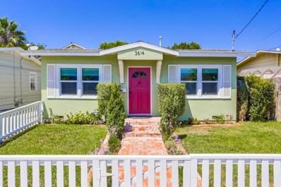 3614 Monroe Ave, San Diego, CA 92116 - MLS#: 180046096