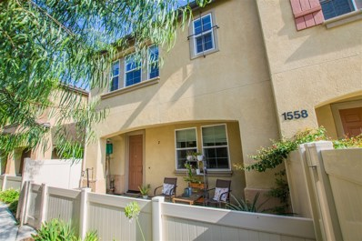 1558 San Javier Ct. UNIT 2, Chula Vista, CA 91913 - MLS#: 180046577
