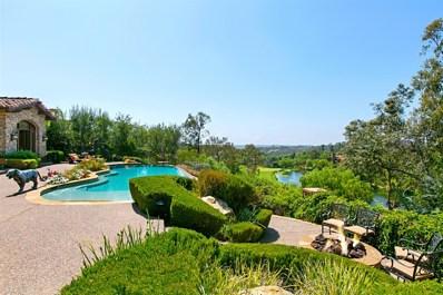 18446 Calle La Serra, Rancho Santa Fe, CA 92091 - MLS#: 180046673