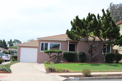 4303 Del Monte Ave, San Diego, CA 92107 - MLS#: 180046751