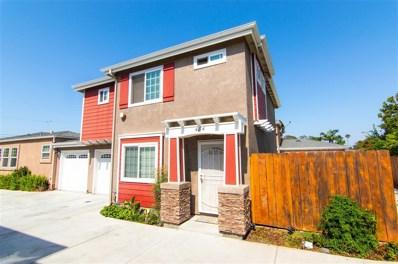 484 Park Way, Chula Vista, CA 91910 - MLS#: 180046908