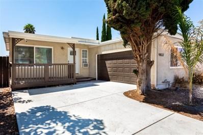 9833 Saint George St, Spring Valley, CA 91977 - MLS#: 180048008