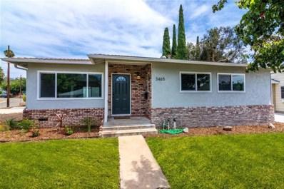 3465 Niblick Dr, La Mesa, CA 91941 - MLS#: 180048039