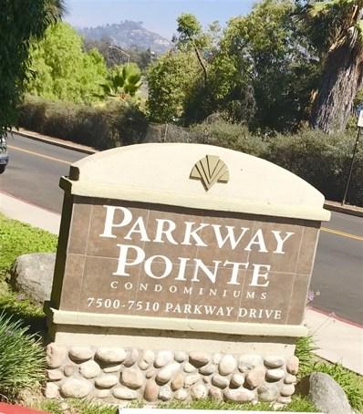 7506 Parkway UNIT 102, La Mesa, CA 91942 - MLS#: 180048085