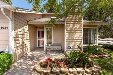 1695 Bronco Way, Oceanside, CA 92057 - MLS#: 180048297