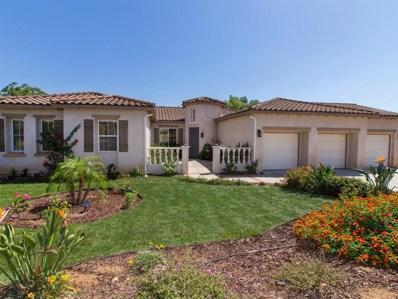 1207 Firecrest Way, Fallbrook, CA 92028 - MLS#: 180048330