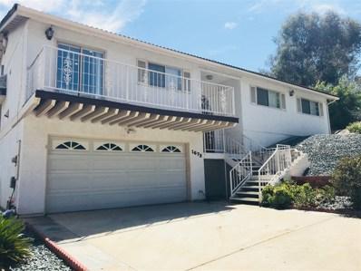 1673 Avenida Cherylita, El Cajon, CA 92020 - MLS#: 180048420