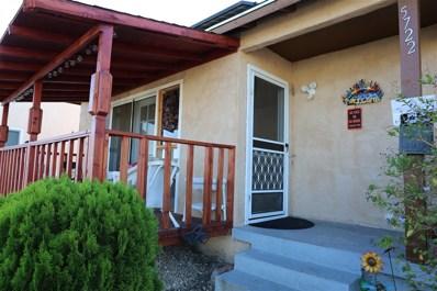 5722 Bolivar Street, San Diego, CA 92139 - MLS#: 180048449