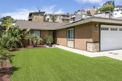 1324 Portola Ave, Spring Valley, CA 91977 - MLS#: 180048603
