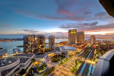100 Harbor Dr UNIT 2705, San Diego, CA 92101 - MLS#: 180048624