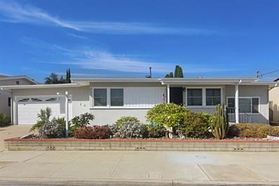 3850 Tomahawk Lane, San Diego, CA 92117 - MLS#: 180048911