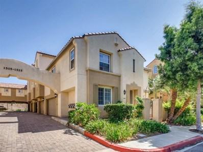1509 Caminito Zaragoza, Chula Vista, CA 91913 - MLS#: 180050251