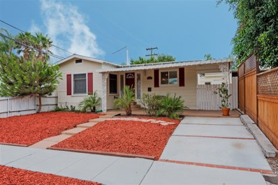 3207 Collier, San Diego, CA 92116 - MLS#: 180050300
