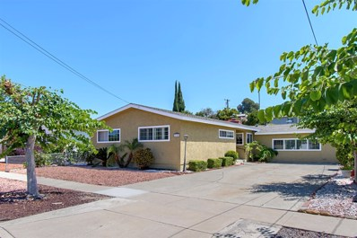 6125 Cowles Mountain Blvd, La Mesa, CA 91942 - MLS#: 180050771
