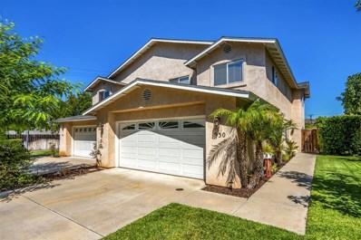 930 Buckeye Ct., El Cajon, CA 92021 - MLS#: 180050812