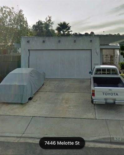7446 Melotte, San Diego, CA 92119 - MLS#: 180051066