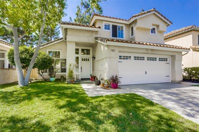787 Mosaic Cir, Oceanside, CA 92057 - MLS#: 180051207