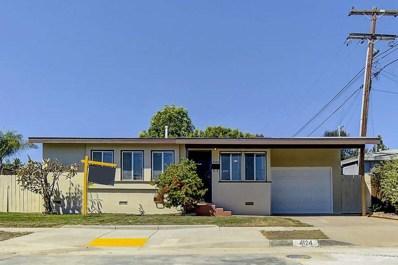 4124 Rappahannock Ave, San Diego, CA 92117 - MLS#: 180051211
