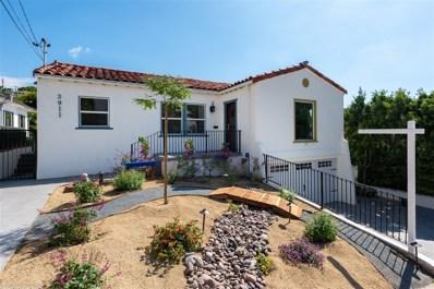 3911 Clark St, San Diego, CA 92103 - #: 180051253