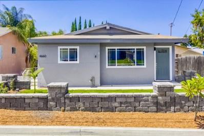 4660 68Th St, La Mesa, CA 91942 - MLS#: 180051567