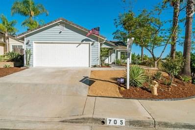 705 Dane Dr, San Marcos, CA 92069 - MLS#: 180051619