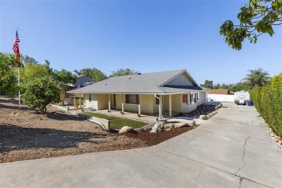 1142 Rancho Ryan Rd, Fallbrook, CA 92028 - MLS#: 180051851
