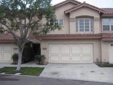 984 Palm Valley Cir UNIT E, Chula Vista, CA 91915 - MLS#: 180051928