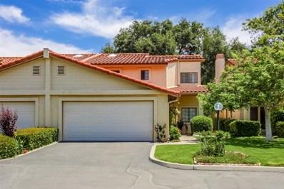 1718 Tecalote Dr UNIT 9, Fallbrook, CA 92028 - MLS#: 180051974