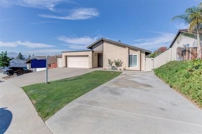 1612 Arnheim Ct, El Cajon, CA 92021 - MLS#: 180051993