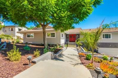 1656 High Crest, Escondido, CA 92025 - MLS#: 180052007
