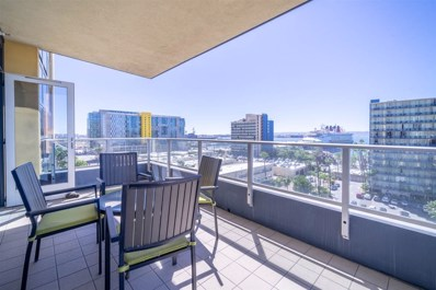 1325 Pacific Hwy UNIT 901, San Diego, CA 92101 - MLS#: 180052189