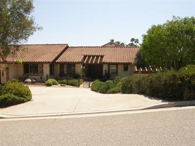 1409 Mandeville Drive, Escondido, CA 92029 - MLS#: 180052323