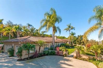 18150 Via Ascenso, Rancho Santa Fe, CA 92067 - MLS#: 180052491