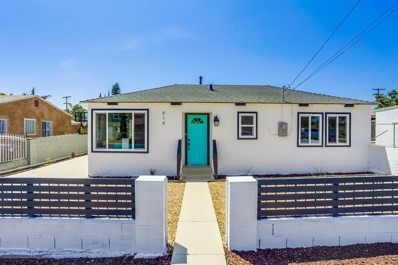 914 42Nd St, San Diego, CA 92102 - MLS#: 180052551