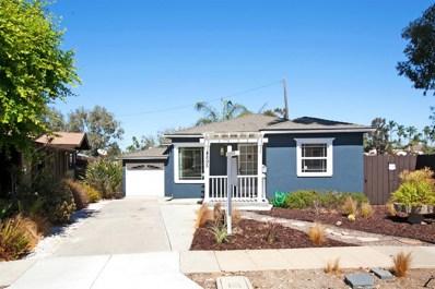4895 Circle Drive, San Diego, CA 92116 - MLS#: 180052637